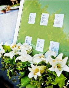 White and green wedding elegant decoration flowers, weddings in Tuscany