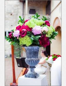 ceremony flower's decoration