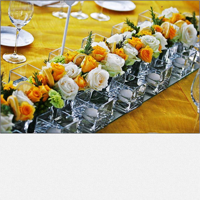 Tuscan Yellow wedding