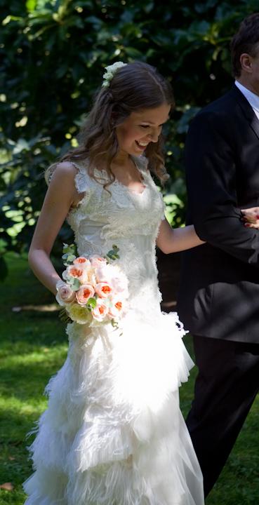 bridal bouquet wedding in Tuscany