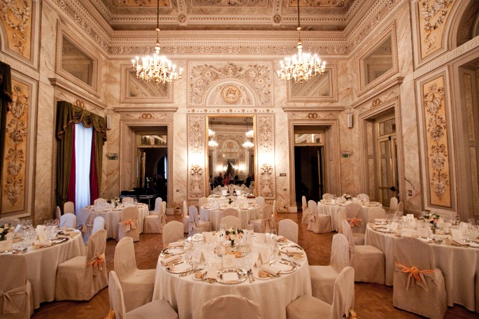St Regis Hotel Ball Room Florence Tuscany Italy