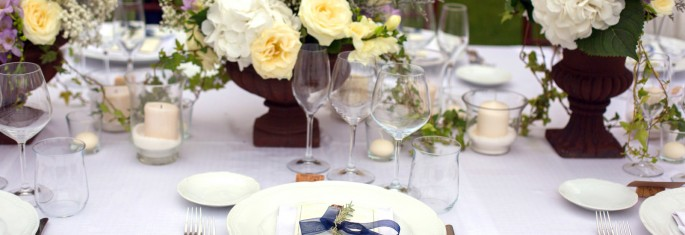 tuscany outdoor rustic wedding reception Flowers