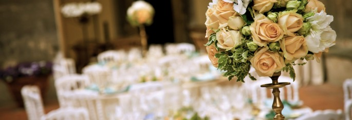 luxury centerpiece tuscany