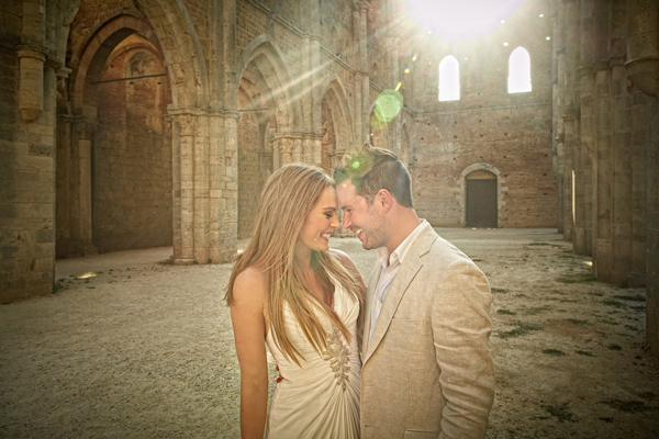 wedding in San Galgano Tuscany