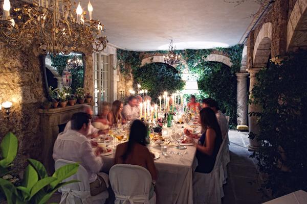 wedding reception Borgo Santo Pietro Tuscany