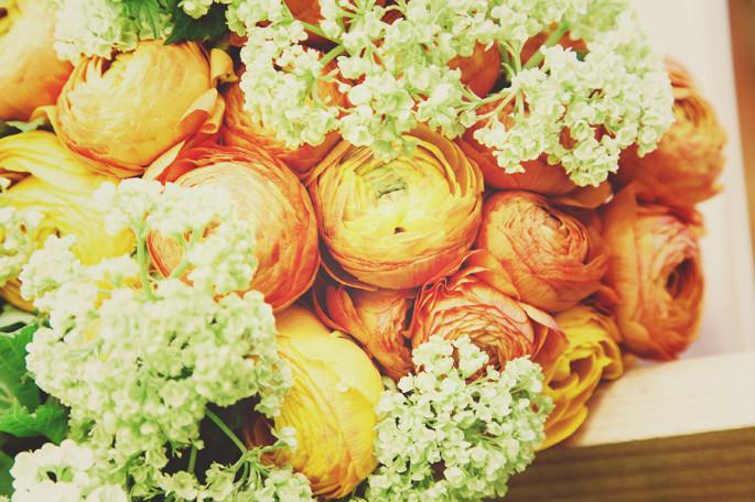 rustic wedding flowers Tuscany