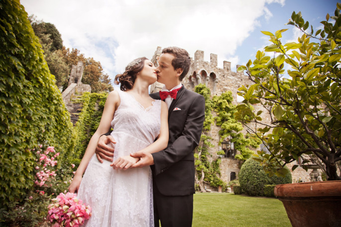 Vincigliata Castle wedding in Florence in Tuscany