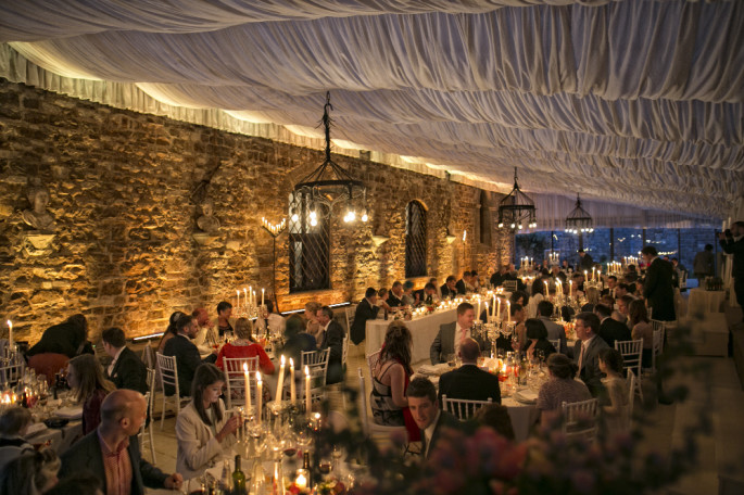 Vincigliata Castle wedding reception