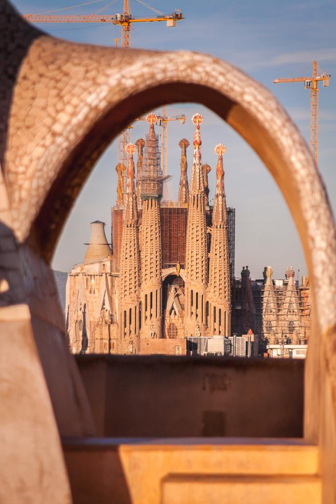 Barcelona Spain Sagrada Familia