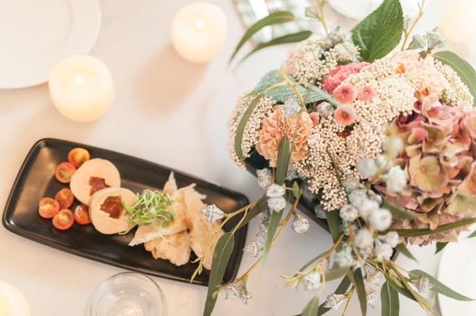 fall reception ideas wedding centerpiece