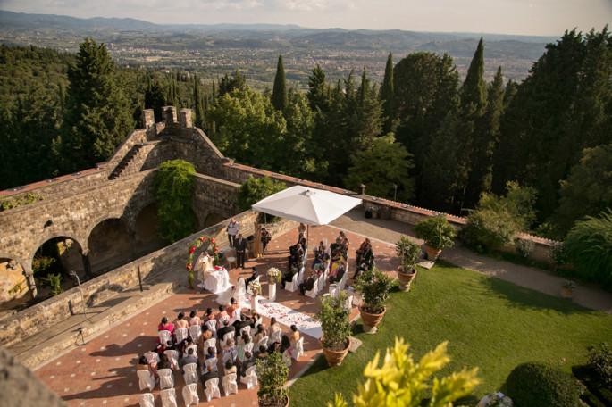 Vincigliata Castle Florence venues  Tuscany