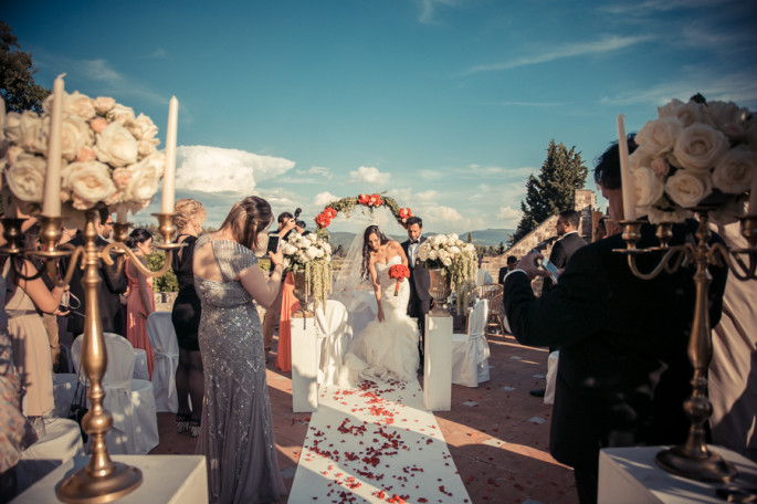 Wedding venue Vincigliata Castle Florence Tuscany