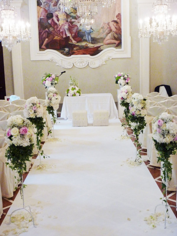 Gherardesca Ball room Four Seasons Florence Tuscany