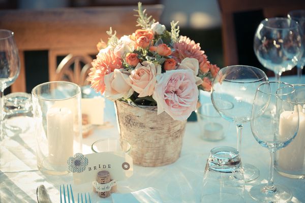 rustic wedding centertable Florence Tuscany