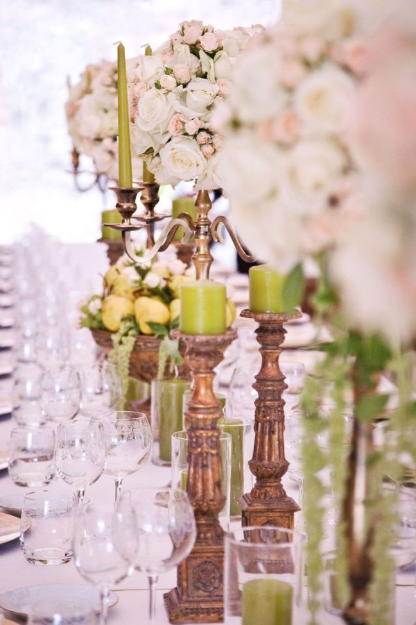 tall weding centertable Flowers Florence Tuscany