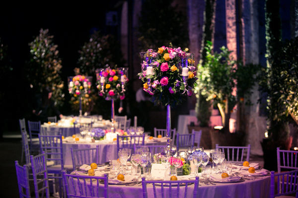 wedding flowers decor Florence Tuscany