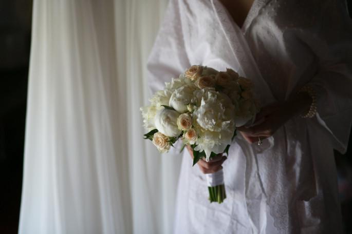 bridal bouquet Florence Tuscany