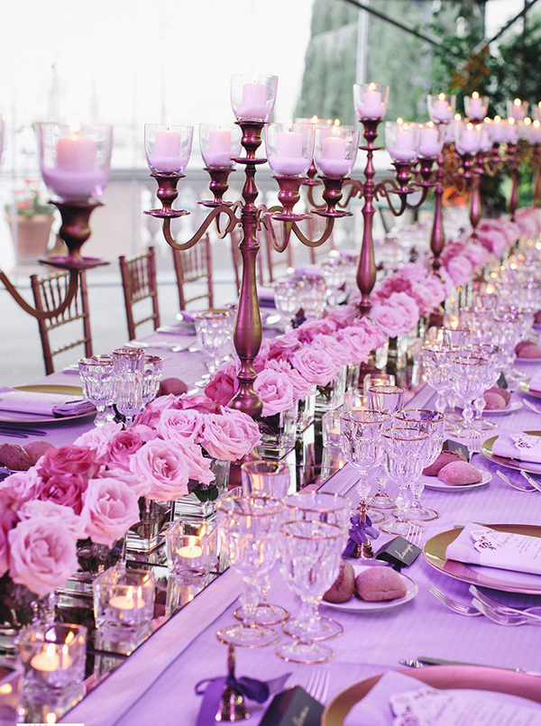 wedding tablescape flowers Florence Tuscany Italy