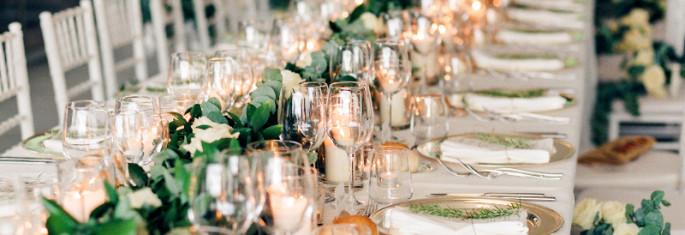 wedding tablescape decor Tuscany