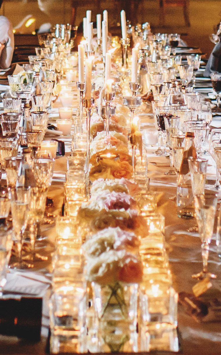wedding Flowers tablescape Florence Tuscany