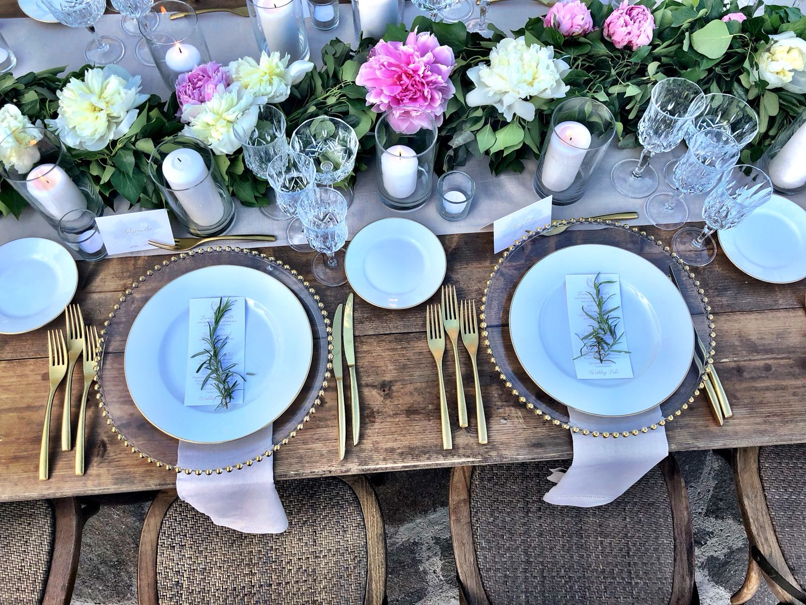 wedding tablescape decor