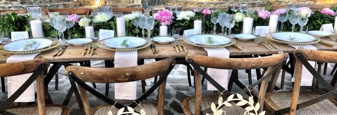 peony wedding flowers decor