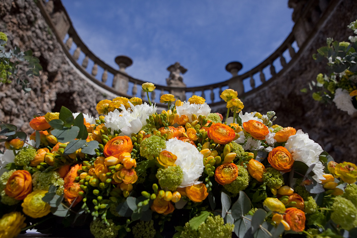 Tuscan Yellow wedding