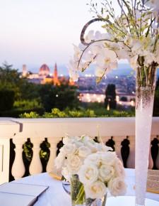 tall centertable luxury wedding