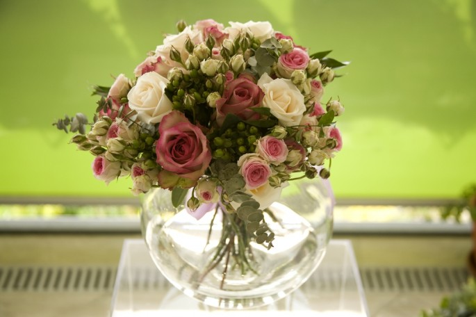 bridal country bouquet