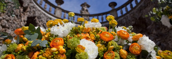 spring wedding flowers Florence Tuscany