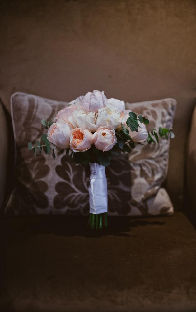 Bridal bouqet Florence Tuscany