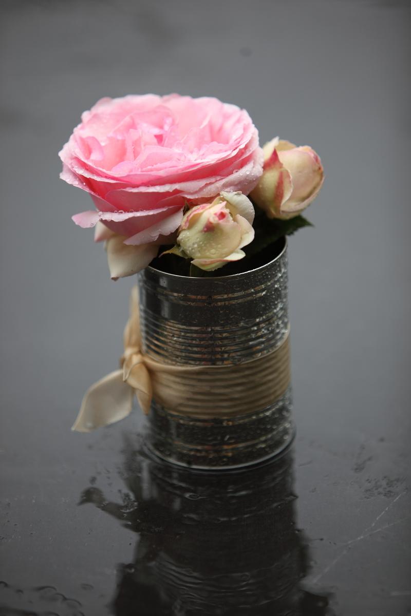 jar centerpiece DIY
