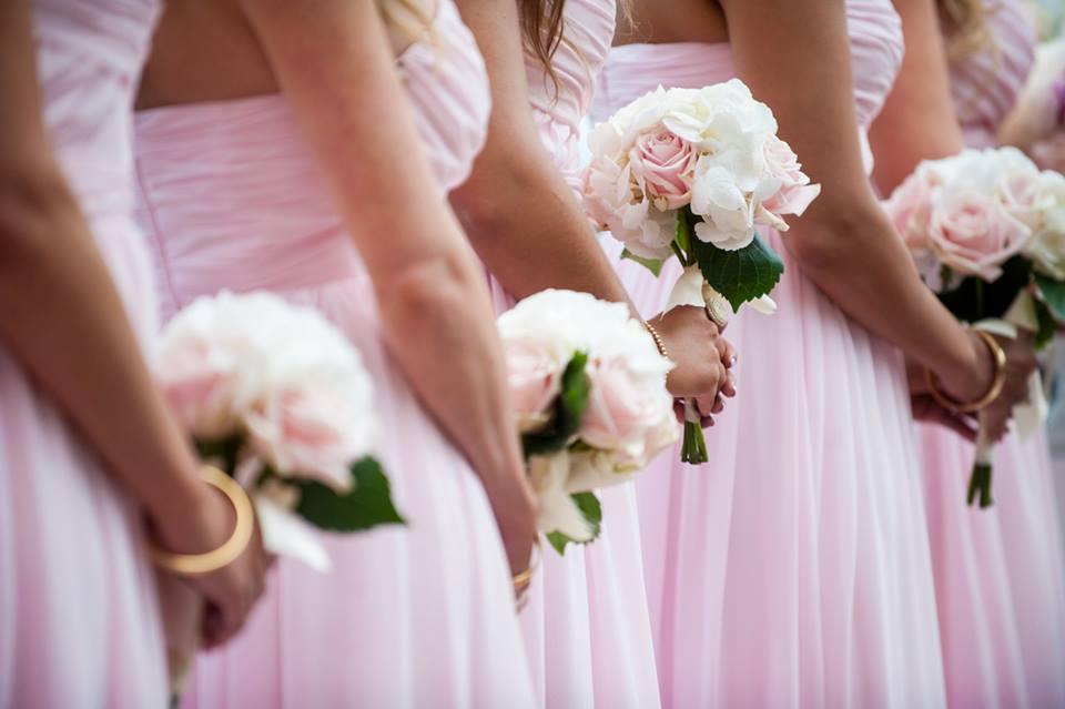 bridesmaid bouquet Florence Tuscany