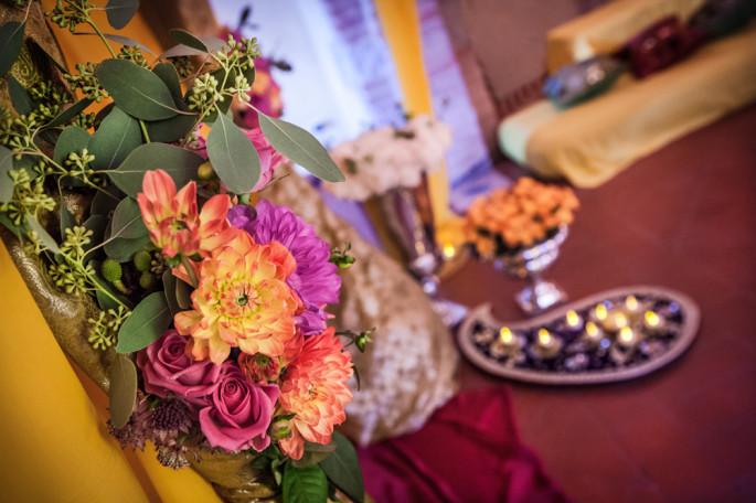nikka ceremony decor Siena Tuscany