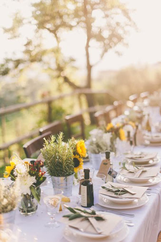 country wedding tuscan reception ideas