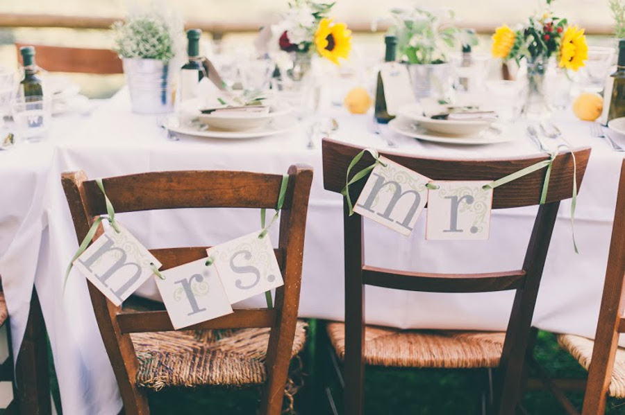 wedding flowers rustic tuscan tablescape