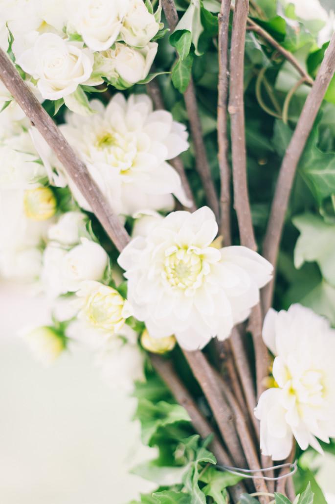 wedding ceremony flowers Tuscany