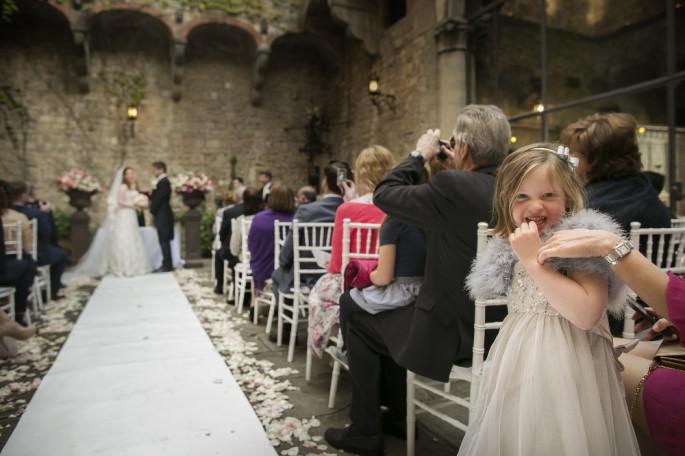 Vincigliata Castle ceremony