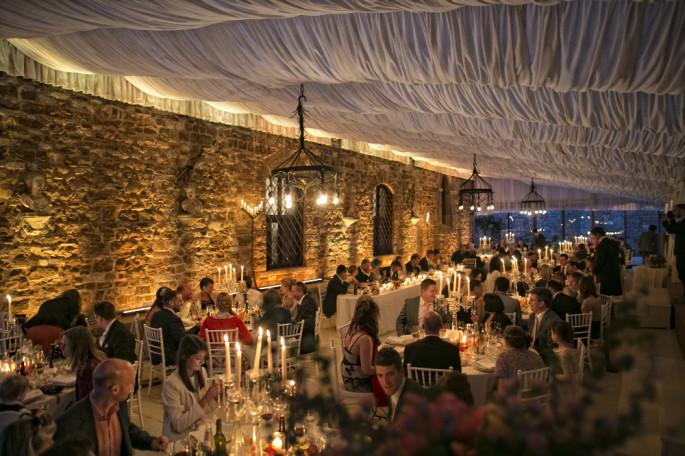 Vincigliata Castle wedding reception