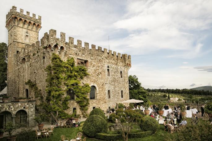 vincigliata Castle Fiesole Tuscany