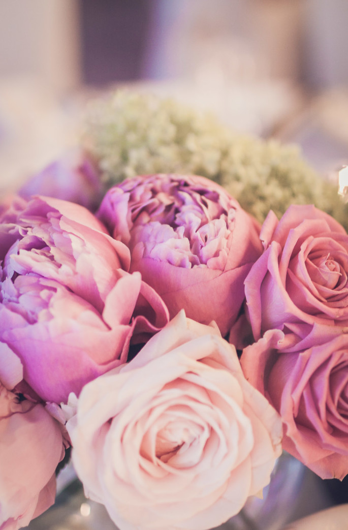 pink wedding flowers ideas
