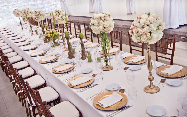 tablescape wedding  Flowers Tuscany