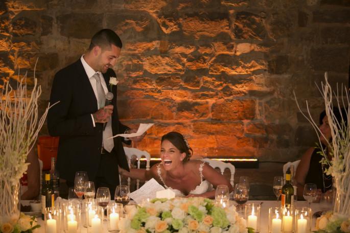 wedding reception flowers Florence Tuscany