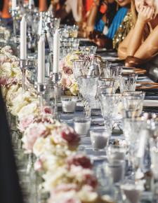 tablescape candles decor