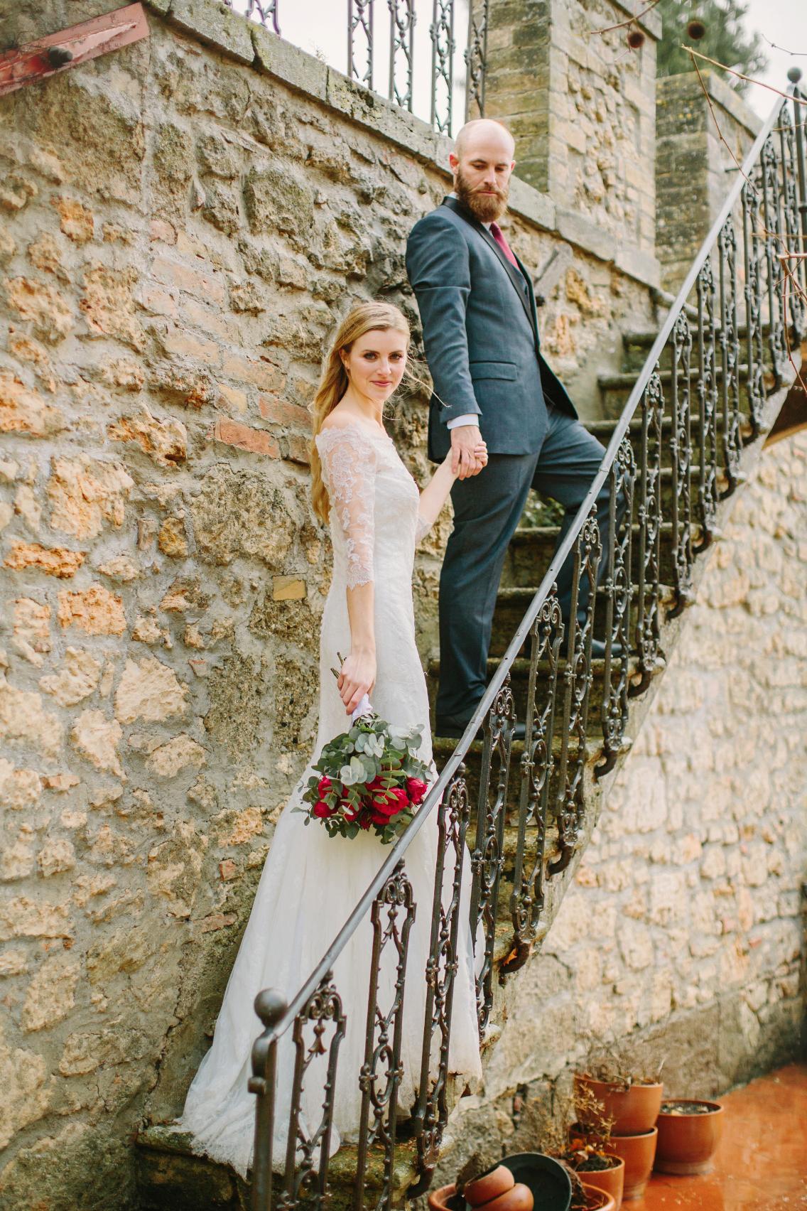 tuscan-wedding-bridal bouquet