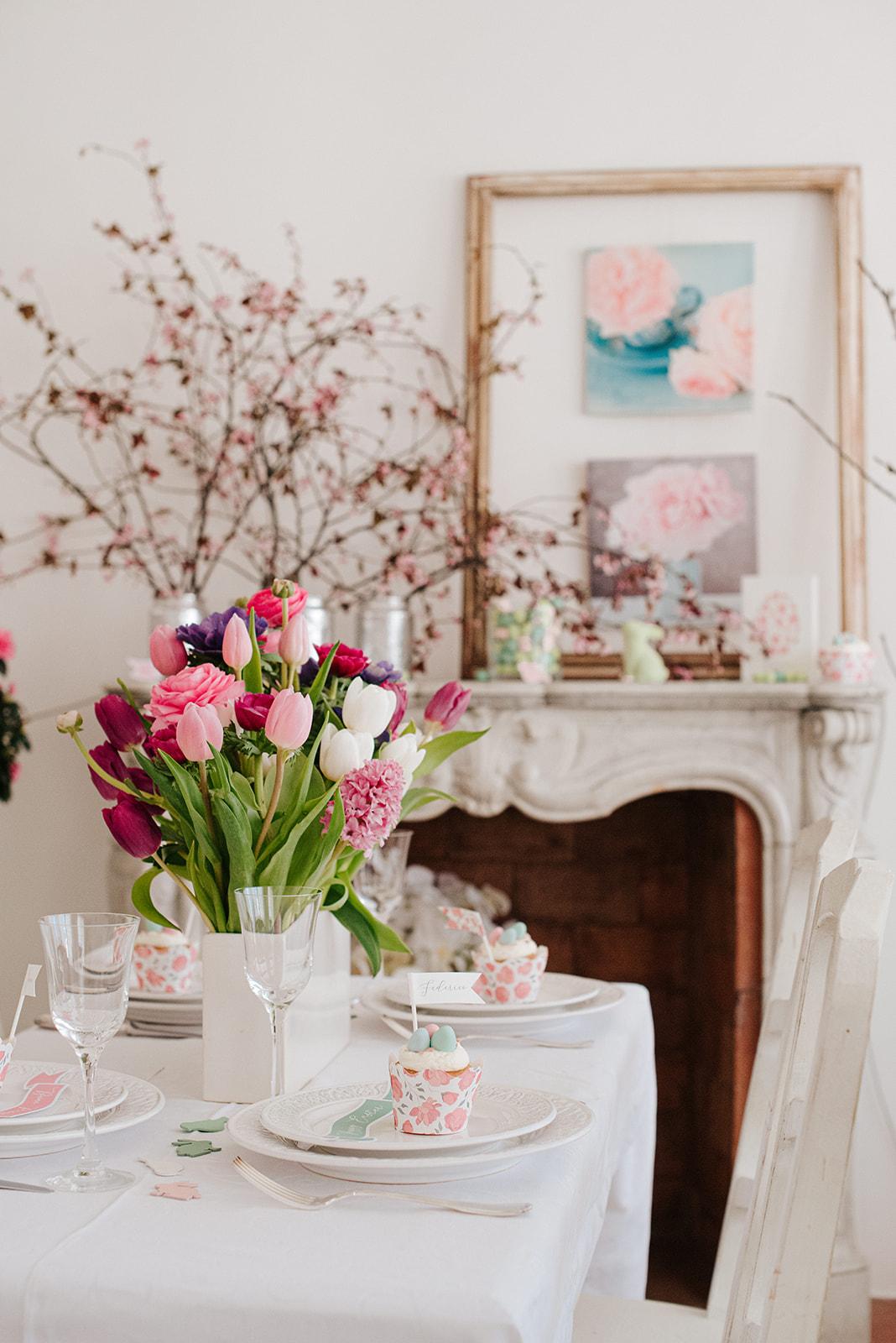 party flower designer Italy