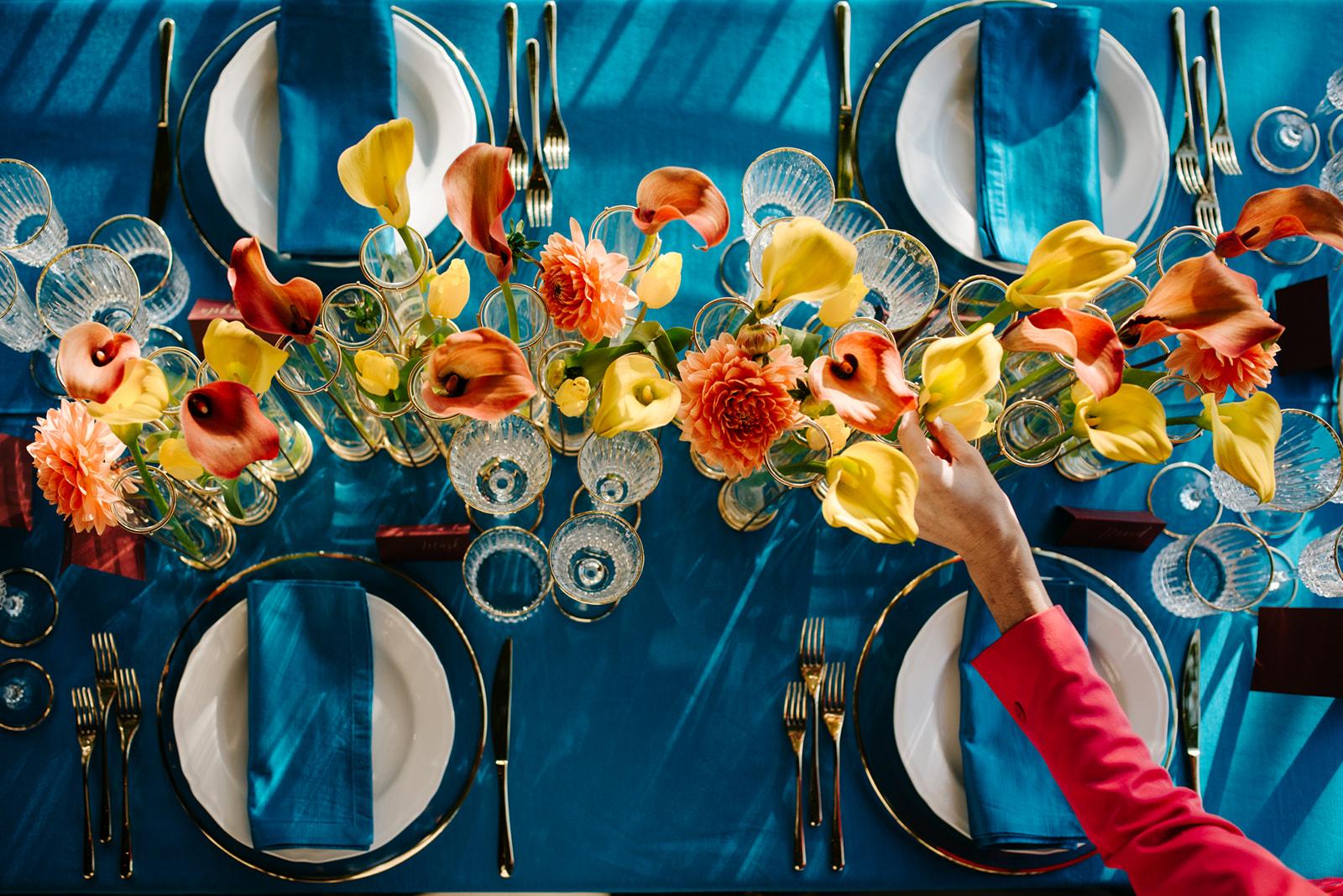 Party florist Tuscany